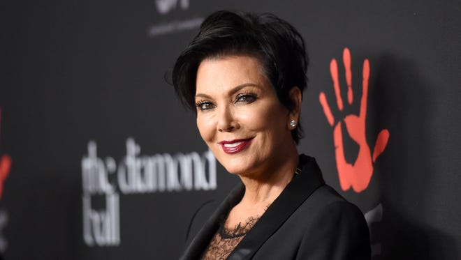 """FILE - A star-studded wedding officiated by Kris Jenner took over Parker Palm Springs this past weekend as """"Teen Wolf"""" and """"American Horror Story:Cult"""" star Colton Haynes, 29, married Jeff Leatham, 46, an artistic director at Four Season."""