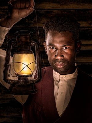 """Darnell Pierre Benjamin plays as Eli in the world premiere production of Kara Lee Corthron's """"Listen for the Light,"""" running April 21-May 13 at Know Theatre of Cincinnati, 1120 Jackson St., Over the Rhine."""