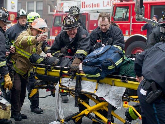 Boston fire