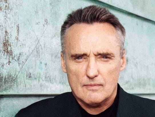 Dennis Hopper is shown in a photo from 1991, when he