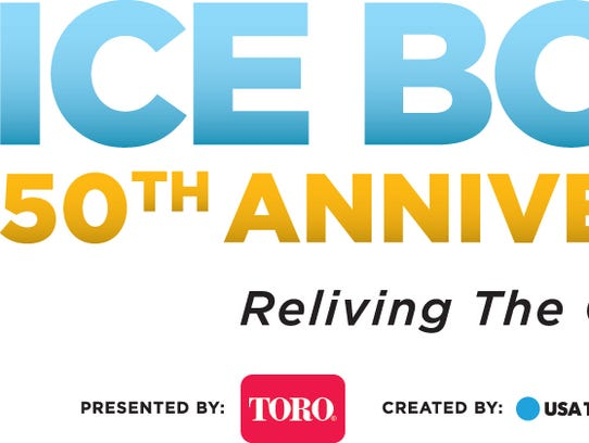 Ice Bowl 50th anniversary logo
