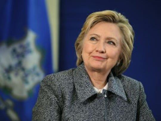 Hillary Clinton (Jessica Hill/AP)