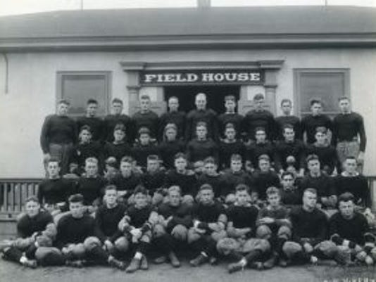 The 1920 Rutgers football team lost 28-0 to Nebraska but it still wasn't enough to satisfy fans in the Midwest.(Photo: Courtesy of Rutgers University archives)