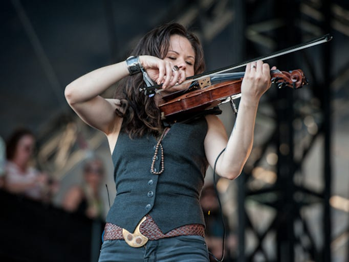 The Avett Brothers perform at the 2014 Hangout Music Fest.