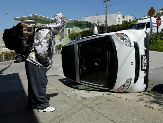 AP APTOPIX Smart Car Vandalism