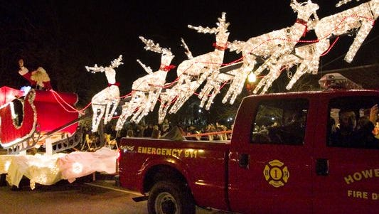 The Fantasy of Lights festivities begin at 4 p.m. on Friday. The parade starts at 7 p.m.