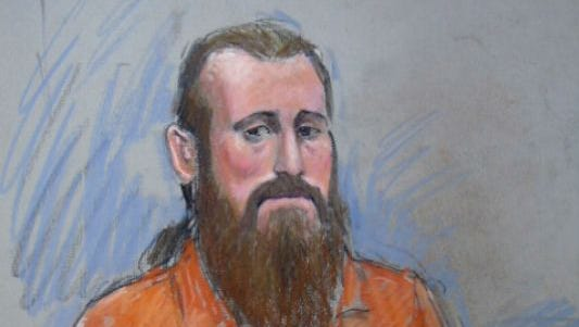 Sebastian Gregerson, seen here in court in August 2016, pleaded guilty to possessing explosives Thursday, March 30, 2017. He is suspected of supporting terrorism but was never charged with terrorism crimes.