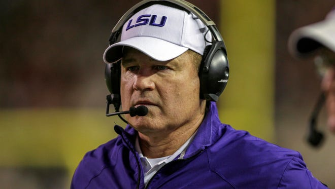 LSU coach Les Miles is familiar with recruit Nick Brossette.