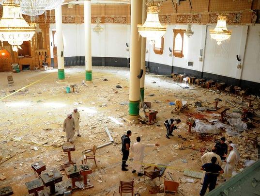EPA EPASELECT KUWAIT UNREST BLAST WAR ACTS OF TERROR KWT