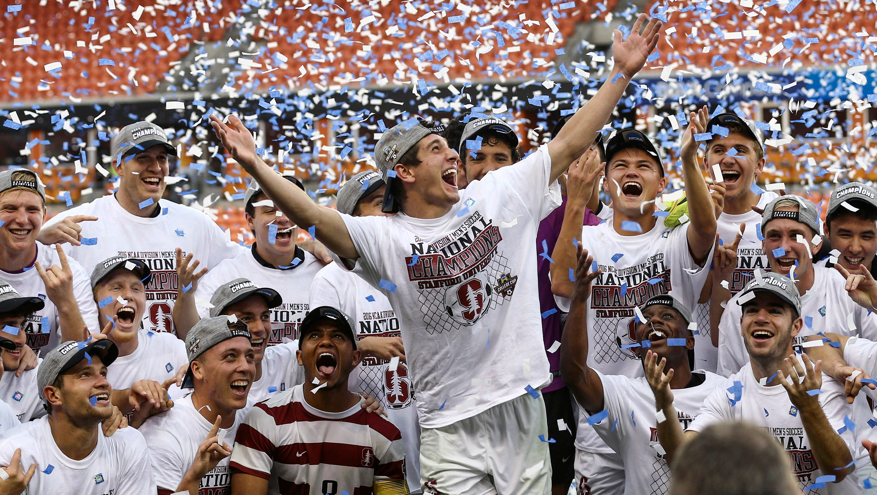 Stanford men win second straight soccer championship
