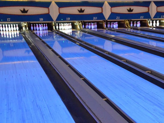 "Northgate Bowl has Blacklight Bowling on ""Black Fridays."""