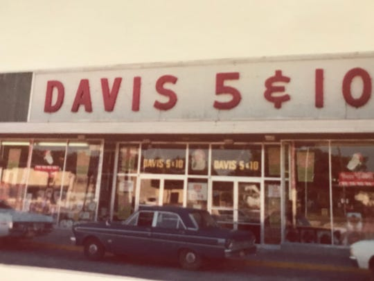 Davis 5 & 10 operated two Warrington locations, opening its first store in 1946.