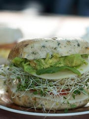 Tuckaway Cafe offers bagel sandwiches on Fort Myers Beach.