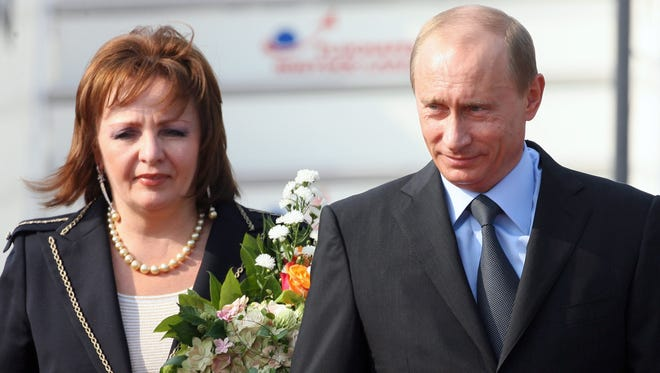 Russian President Vladimir Putin and his wife, Lyudmila, announced they will divorce.