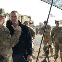 After trip, Maloney offers assessment of situations in Iraq and Afghanistan