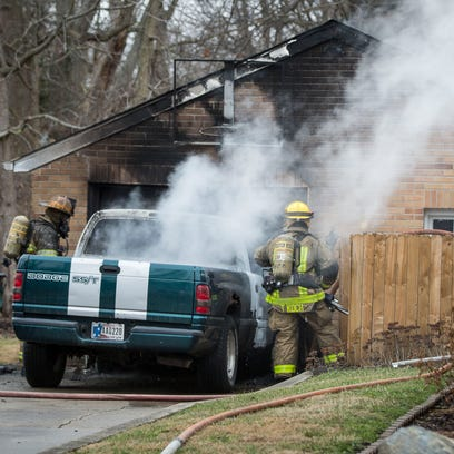 Muncie firefighters respond to a fourth fire in a twelve