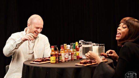 Taraji P. Henson reacts to Extreme Karma sauce on 'Hot