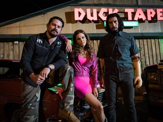 The Logan clan —Jimmy (far left, Channing Tatum),