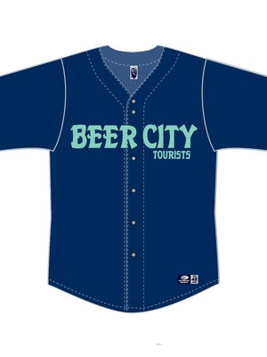 In a one-night promotion, the Asheville Tourists will become the Beer City Tourists June 2.