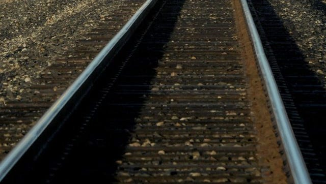 A man was killed after being struck Sunday afternoon by a train in Ventura.