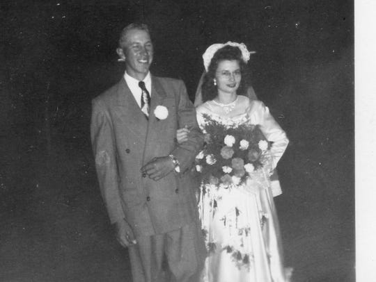 Urban and Mary Ann Primus were married in 1949.