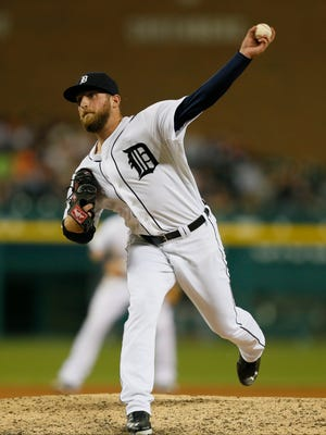 Detroit Tigers relief pitcher Ian Krol