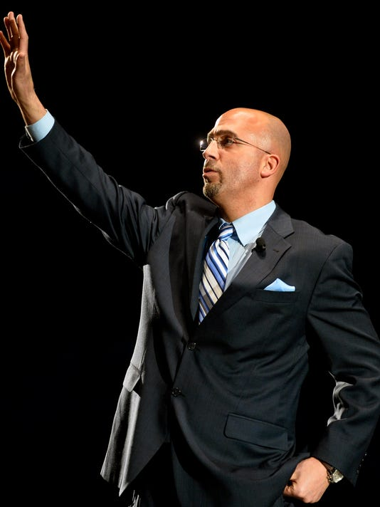 James Franklin will be making his first public Penn State appearance in York on May 6.