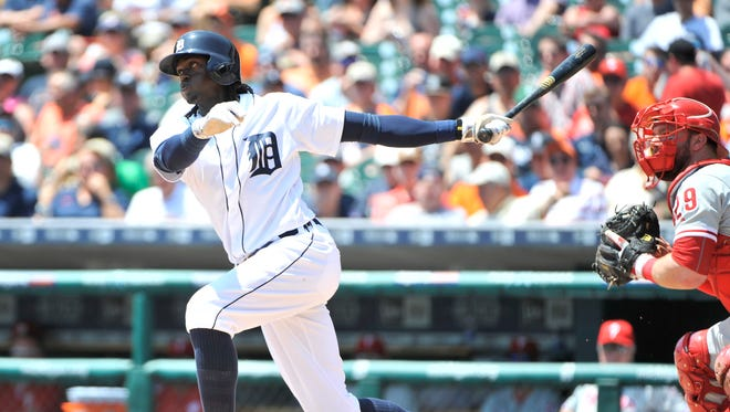 Cameron Maybin is hitting .352, which is nearly 100 points higher than the .257 he was batting after 10 big-league seasons preceding his return to the Tigers.