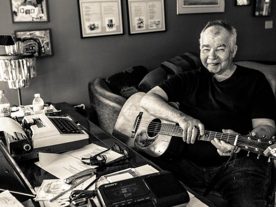 John Prine will enter the Songwriters Hall of Fame on Thursday at a ceremony in New York City.