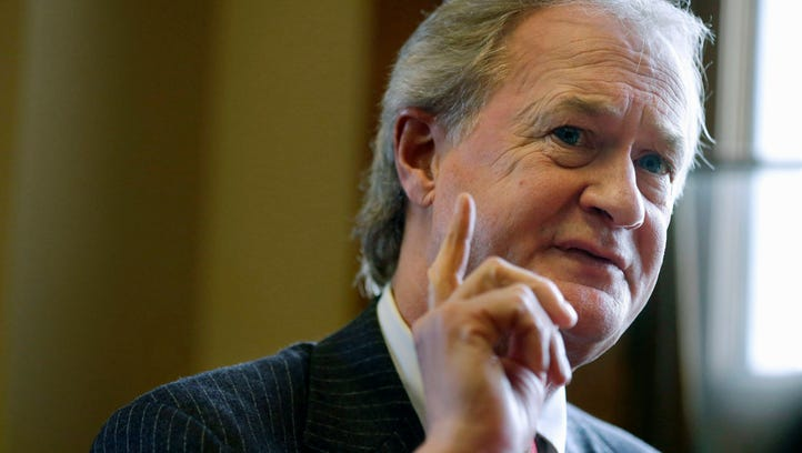 Former Rhode Island governor Lincoln Chafee