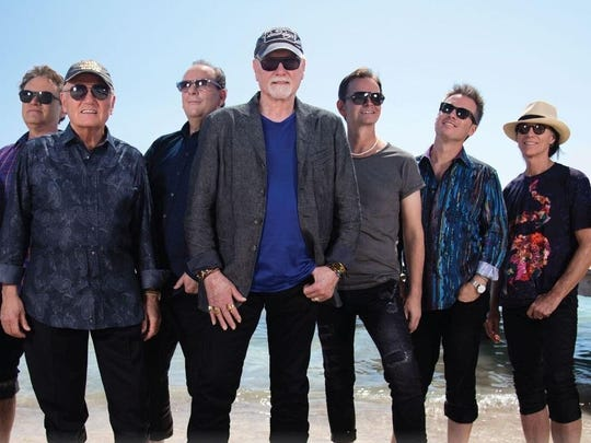 The Beach Boys perform Aug. 7 at Tioga Downs Casino
