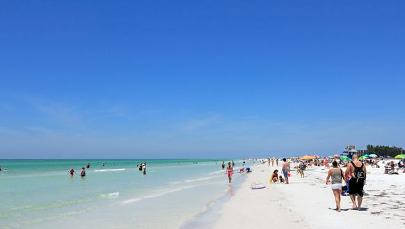 Siesta Key in Florida was named the USA's best beach