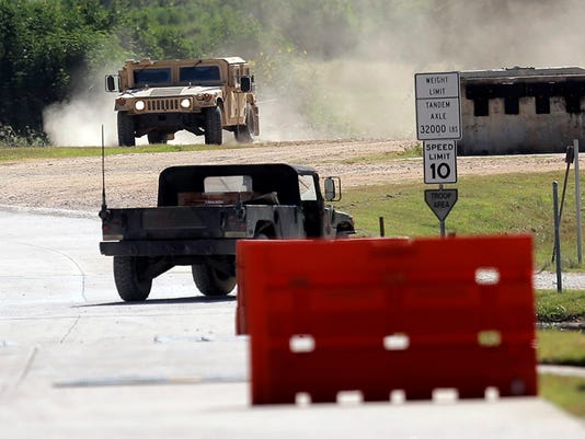 Military Training Texas