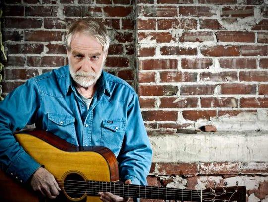 Folk musician David Mallett performs Saturday in Greensboro.