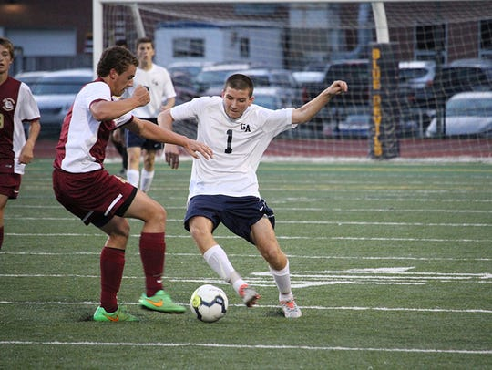 Greencastle's Jared Rohrbaugh (1) will aid the Blue