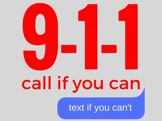 9-1-1 to text