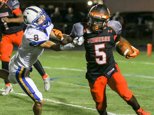 Cranford vs. Somerville Football