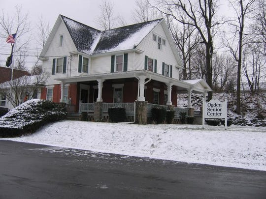 The Moore home as the Senior Center today.