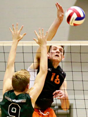 Central York's Cole Johnson recently gave a verbal commitment to play volleyball at UCLA.