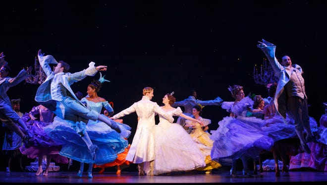 The Cast of the National Tour of Rodgers + Hammerstein's Cinderella.