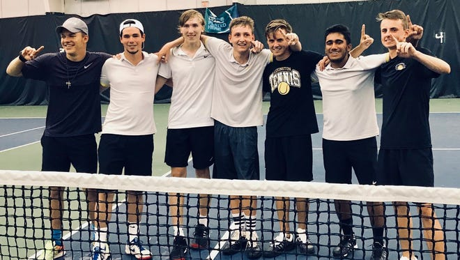 Lexington is headed to the Final Four in tennis, thanks to Tuesday's 3-1 win over Ottawa Hills in the district finals of the team tournament at Lakewood Racquet Club.