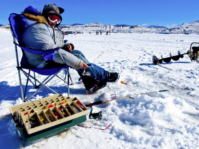 Beautiful colorado 50 postcard perfect images for Ice fishing tournament