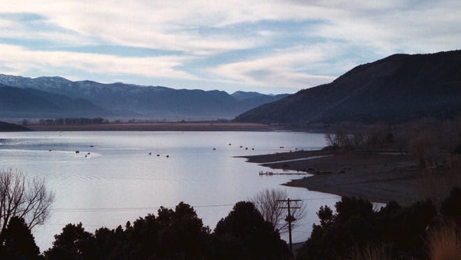 Topaz Lake in Douglas County, Nev., and Mono County, Calif., is home to one of the high hazard dams that lacks an emergency action plan, according to the National Inventory of Dams.