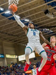FGCU senior guard Brandon Goodwiin, the unanimous Preseason