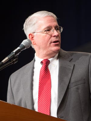 Vernon Delpesce, CEO of the YMCA of Greater Des Moines, speaks in this file photo.