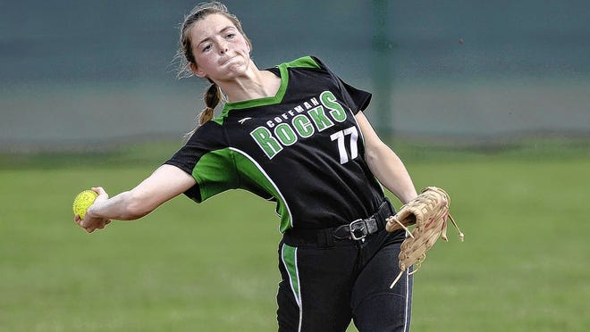 Coffman graduate and Ohio Wesleyan commit Rylee Anspach was eager to play with her summer travel softball team after her senior season with the Shamrocks was canceled because of the COVID-19 coronavirus pandemic.