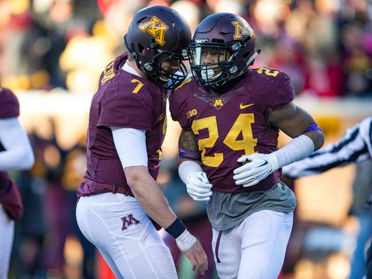 Minnesota should have a much-improved offense behind