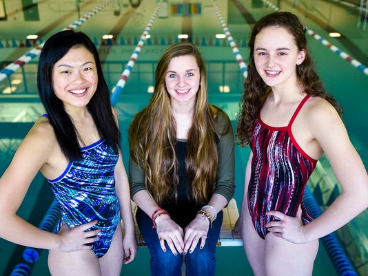 State swimmers portrait