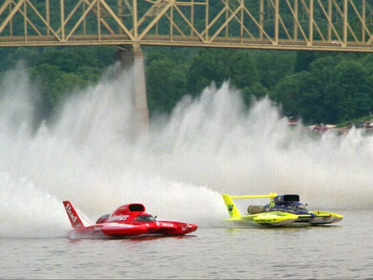 Madison Regatta: Can a dead man save this hydroplane race?