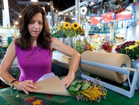 Leslie Dixon, owner of Sweet Annie's Mobile Flower